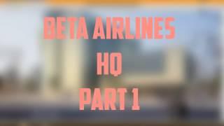 ROBLOX Beta Airlines HeadQuarters SpeedBuild Parte 1
