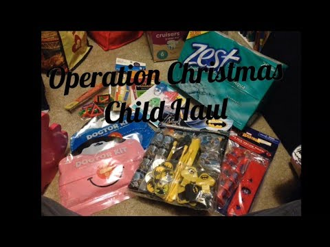 Operation Christmas Child Boxes 2019.Operation Christmas Child Haul 2019 Recent Items Collected For Boxes
