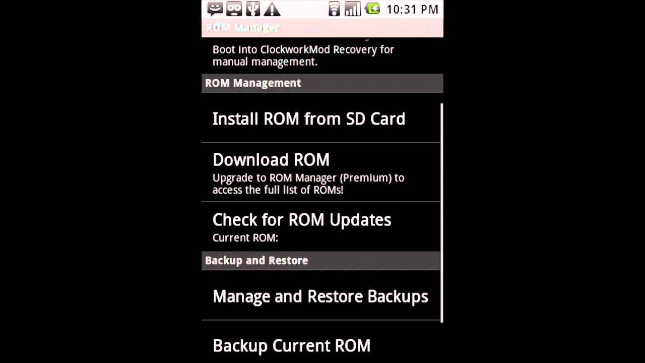 🐈 Rom manager premium apk mod | ROM Manager Premium APK v5