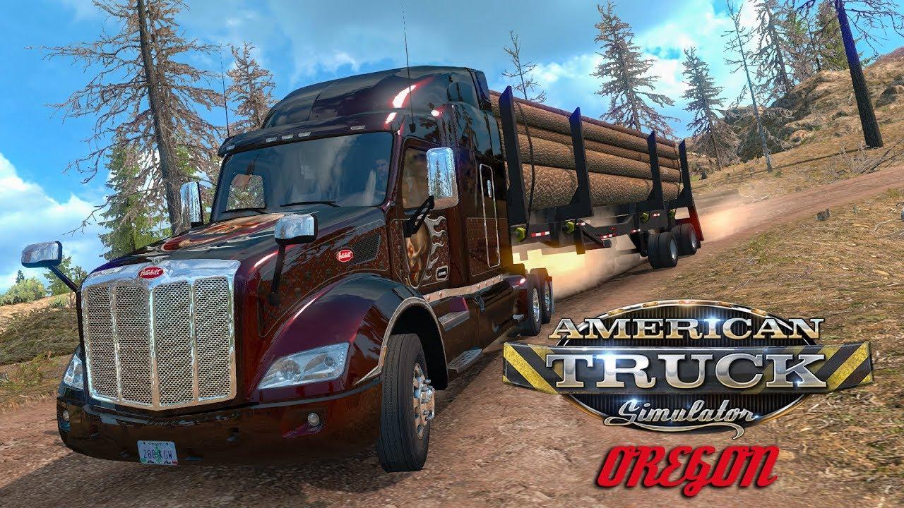 american truck simulator dlc oregon youtube. Black Bedroom Furniture Sets. Home Design Ideas