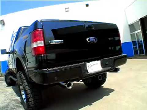 2008 ford f 150 5 4 limited custom true dual system with flowmaster by kinney s