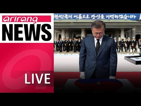 [LIVE/NEWSCENTER] President Moon calls for strong military for peace amid 70th Armed Forces Day