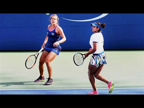 Sania Mirza-Barbora knocked out from US Open  | वनइंडिया हिन्दी