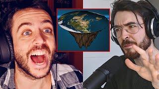 QuantumFracture intenta convencer a Jordi Wild de que la Tierra es Plana | The Wild Project