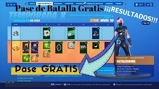 🔥🔥RESULTS OF THE FORTNITE BATTLE PASS TOTALLY FREE!!! 🔥🔥