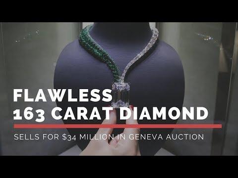 Flawless 163-Carat Diamond Sells for $34 Million in Geneva Auction