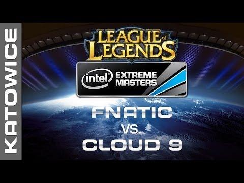 fnatic vs. Cloud 9 - Semifinal Map 2 - IEM Katowice 2014 - League of Legends