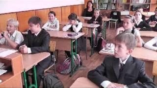 Урок французского на День учителя