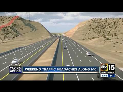 Ready for some major freeway closures in the Valley?