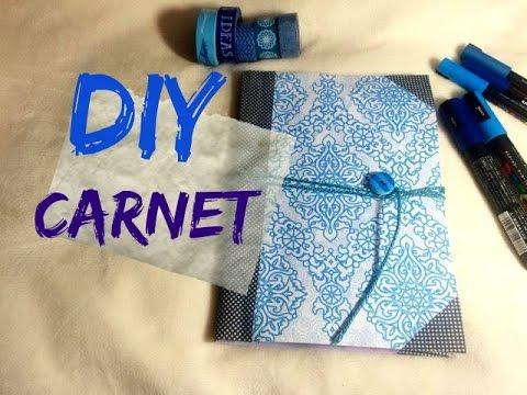 diy fabriquer un carnet un livre bouton youtube. Black Bedroom Furniture Sets. Home Design Ideas