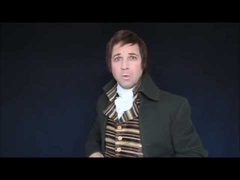 Robert Burns - To a Louse performed by Christopher Tait