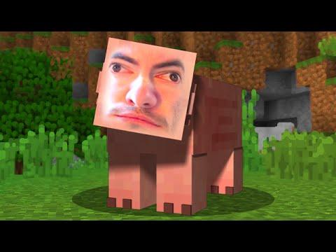 pig vs skeleton - minecraft super smash mobs - youtube, Skeleton