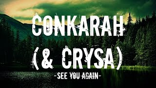 Conkarah & Crysa - See you again (Reggae cover) (Lyrics)