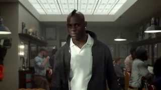 Nike Soccer ad with Mario Balotelli in the Nike Barbershop