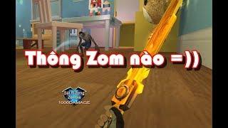 """Thủy lôi kiếm gold , MP5 Windrunner vs Zombie """" Truy Kích VN """""""