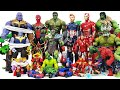 Thanos Is Attacking The Avengers, Go~! Hulk, Spider-Man, Thor, Iron Man, Captain America