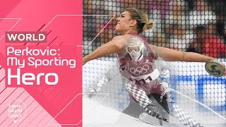 World's Greatest Discus Thrower Sandra Perkovic on Janica Kostelic | My Sporting Hero