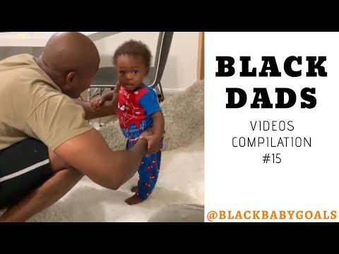 BLACK DADS Videos Compilation #15 | Black Baby Goals