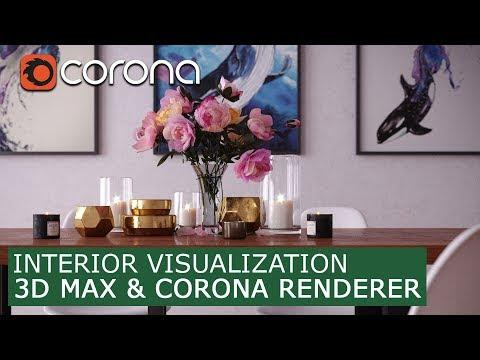Interior Visualization - 3Ds Max & Corona Renderer | Tutorials For Beginners Archviz