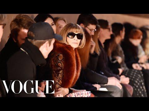 Vogue's Anna Wintour on Paris Fashion Week
