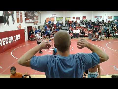 Cameron Owens Findlay High Wrestler Vs. Arcadia High 12.9.2017
