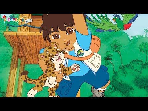 Go Diego Go! Safari Rescue | Full Movie Game | ZigZag