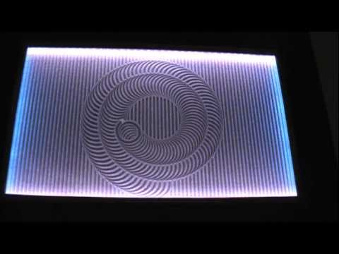 Zen Table Drawing Spiral Pattern   YouTube