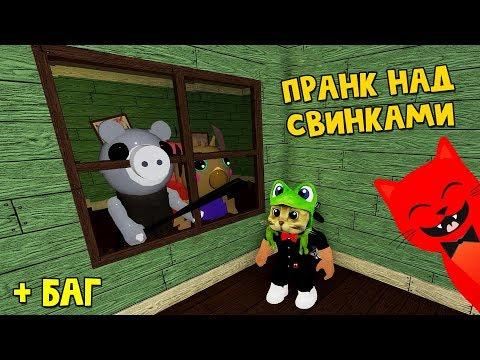 ДЕЗИНФЕКЦИЯ или ПРАНК над свинкой Пигги роблокс | Piggy Roblox | Новый режим в игре Свинка Пигги