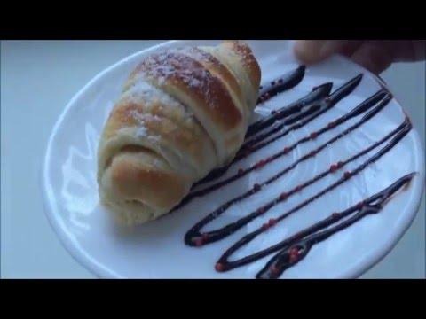 Рецепт Croissant with chocolate/Круассан с шоколадом