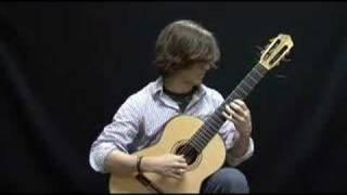 Jared Walker Plays Op. 6, No. 6 by Fernando Sor
