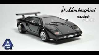 Lamborghini Countach 5000 S (LP500 S) 1982 - AutoArt Signature 1:43