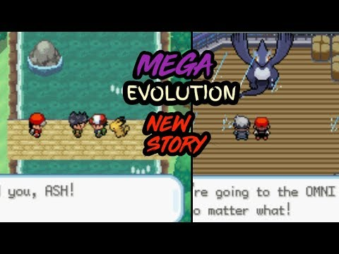 BEST POKEMON GBA ROM HACK WITH MEGA EVOLUTION ||GAMEPLAY + DOWNLOAD||