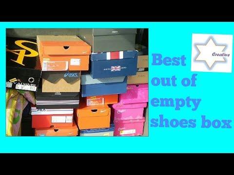 Handmade bangle box tutorial | Recycle shoes box | Bangle Box with Waste Material  | Creative Star