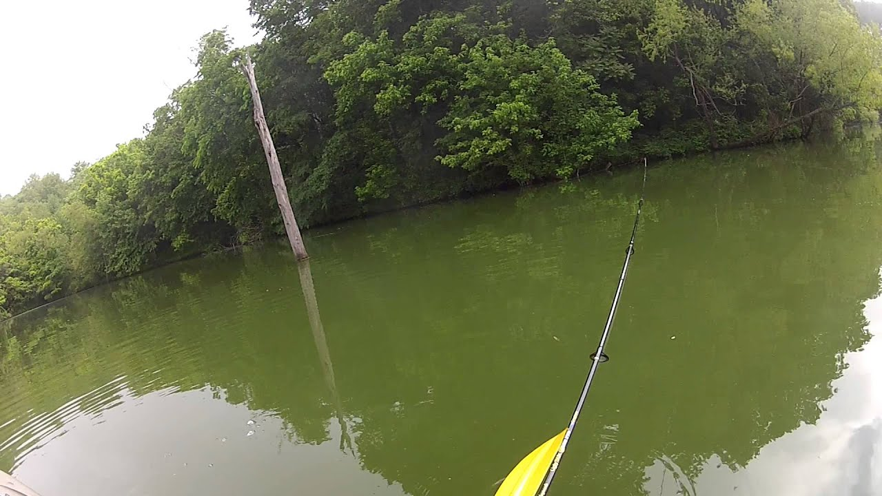 Ascend fs12t bass pro shops kayak fishing youtube for Bass pro fishing kayak