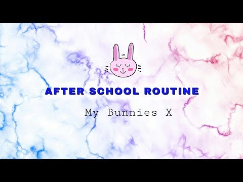 AFTER SCHOOL ROUTINE | ♥