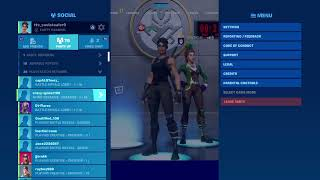 Fornite FASHION SHOW LIVE  WINNER[SOUTOUT] NOT FAKE