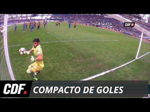 Antofagasta 0 - 2 U. de Chile | Torneo Scotiabank Transición 2017 (Apertura) Novena Fecha | CDF