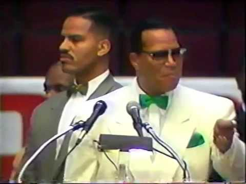 The Hon. Louis Farrakhan; What time is it.