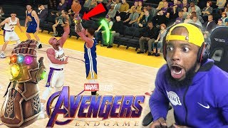 What IF STEPHEN CURRY Wore The INFINITY GAUNTLET Vs THANOS! NBA 2k19 Avenger