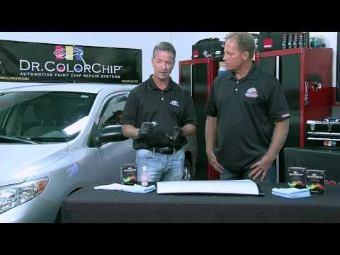 How to use the Dr. ColorChip System to fix rock chips on your car!