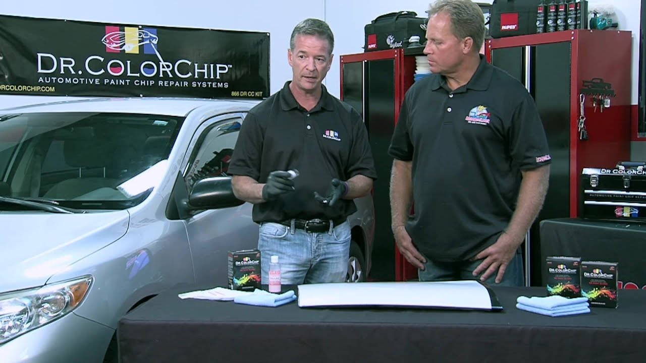 How to use the Dr  ColorChip System to fix rock chips on your car!
