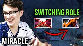 Liquid.Miracle- Switching Role From Mid to Carry Soon? - Dota 2 EPIC Gameplay Compilation