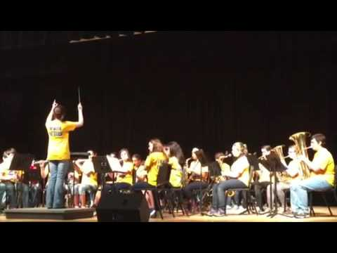 New Kent Middle School, 7th grade band [Majestica]