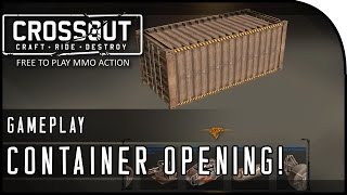 "Crossout Beta Gameplay Part 7 - ""CONTAINER UNBOXING, MORE CHALLENGES!"" (CrossOut Gameplay)"