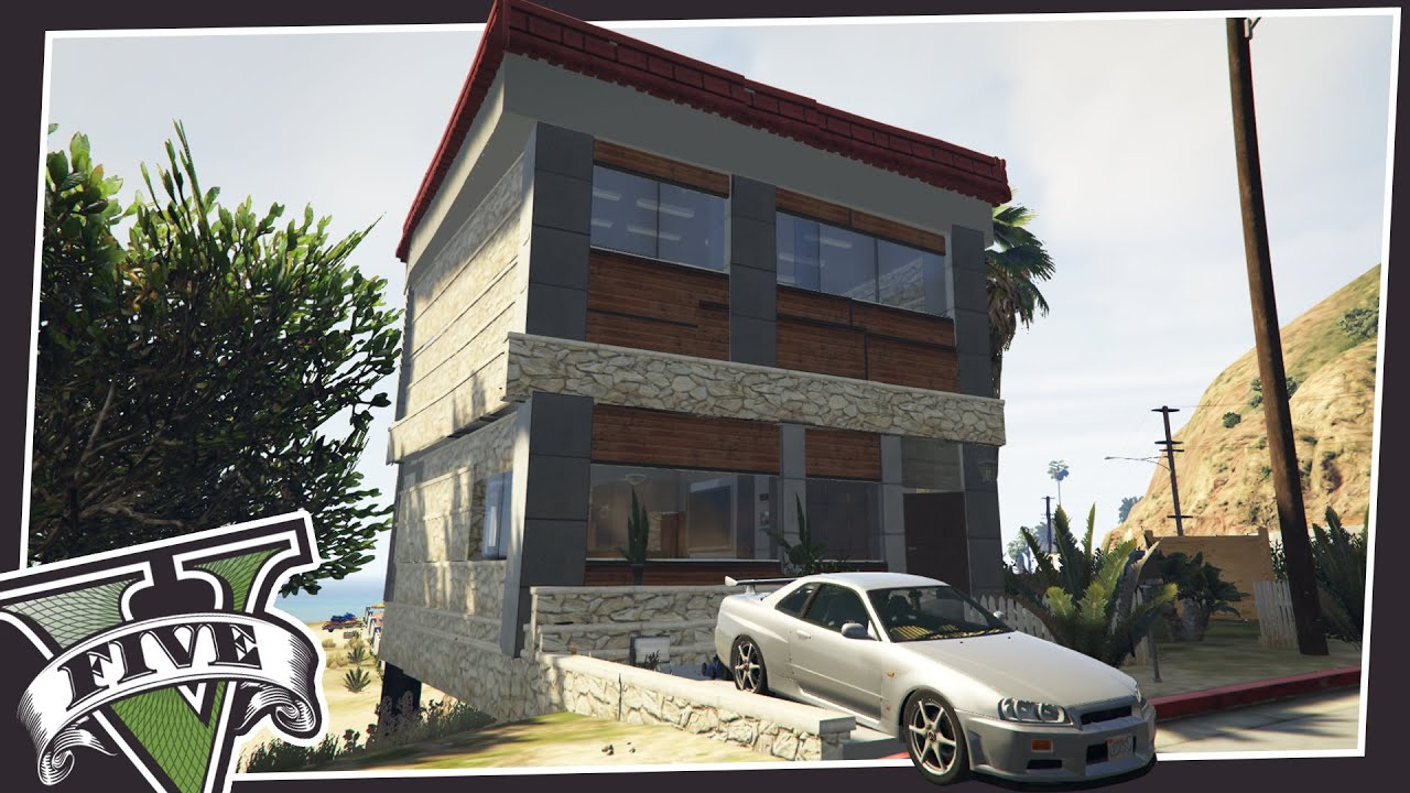 New houses in gta 5 youtube for Designer apartment gta 5