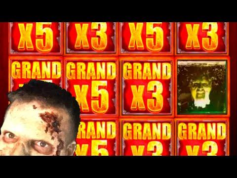 $10,000.00! The BEST WALKING DEAD 2 Slot Machine Hits On YOUTUBE! Winning W/ SDGuy1234 - 동영상