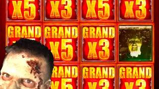 $10,000.00! The BEST WALKING DEAD 2 Slot Machine Hits On YOUTUBE! Winning W/ SDGuy1234