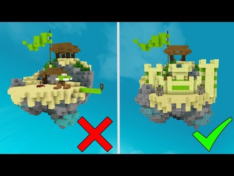 Can you Win WITHOUT LEAVING YOUR ISLAND? (Minecraft Bed Wars)