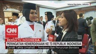 Download Video Mengenal Zanati Tahta Umahati, Paskibraka Pembawa Baki Penurunan Bendera HUT RI ke-73 MP3 3GP MP4