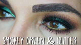 Smokey Green & Glitter Tutorial | St. Patrick's Day 2016